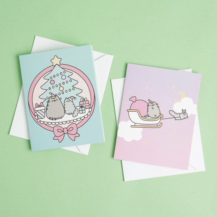 Pusheen Holiday Greeting Cards