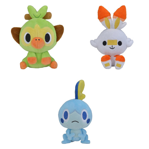 Pokemon Dolls - Galar Starter Plush