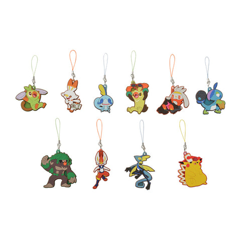 Pokemon Galar Tabi - Rubber Strap Collection *BLIND PACKED*
