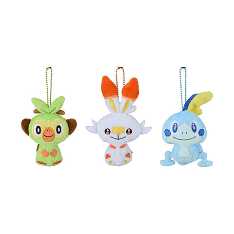 Pokemon Galar Tabi - Mini Mascot Plush Set