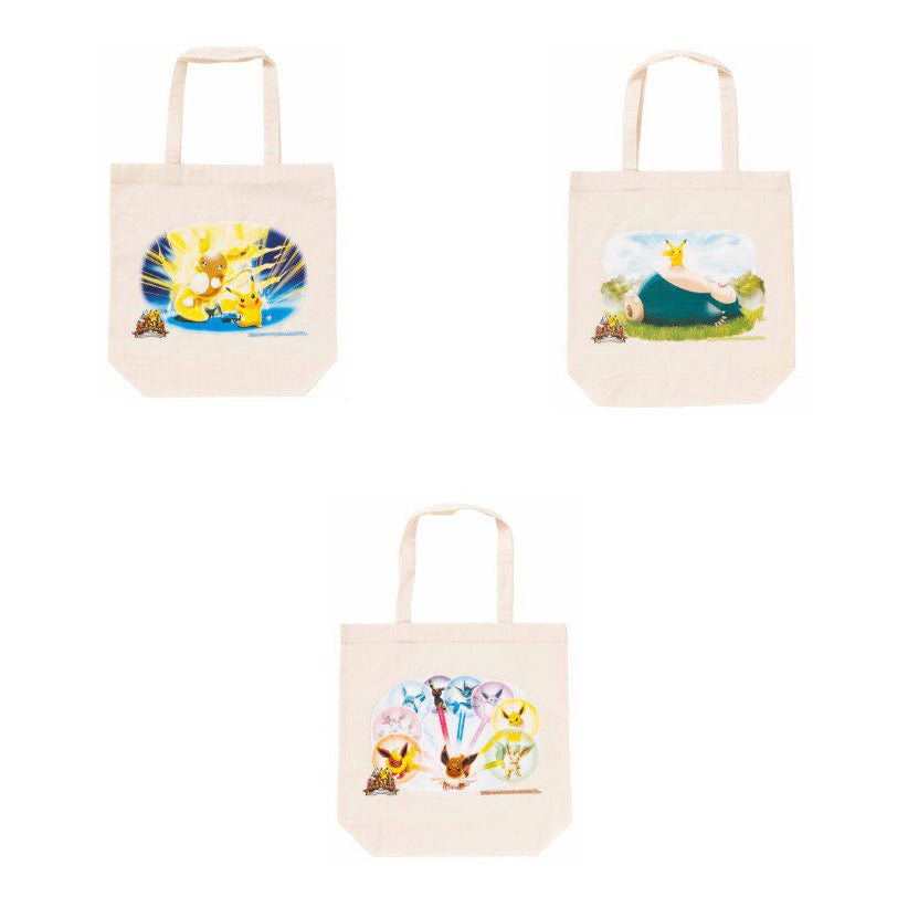 Pokemon 1st Anniversary Canvas Tote Bag