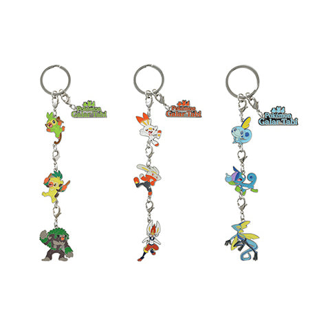 Pokemon Galar Tabi - Triple Charm Key Holder