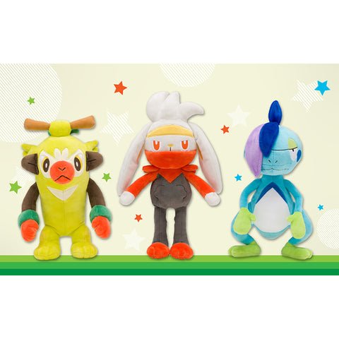 Pokemon Center Sword & Shield Plushes Part 6