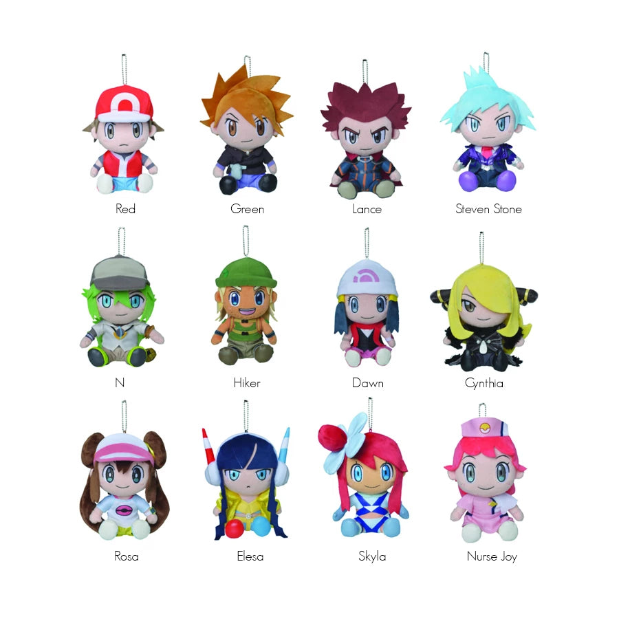 Pokemon Trainers - Trainer Plush