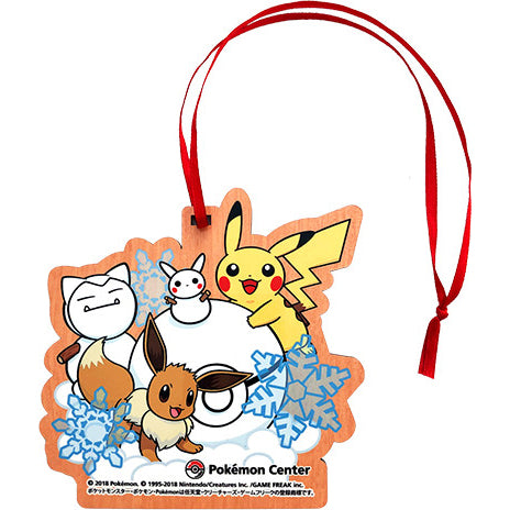 Pikachu & Eevee Ornament