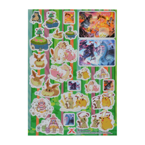 Gigantamax Pokemon - Sticker Sheet