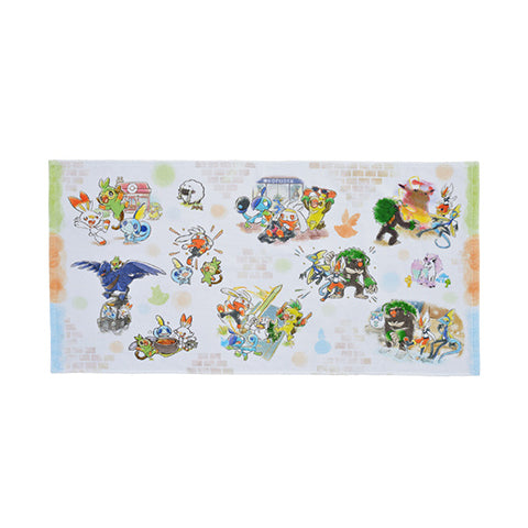 Pokemon Galar Tabi - Mini Bath Towel