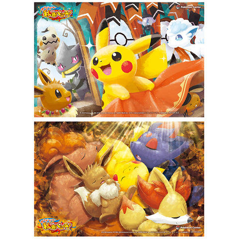 Pokemon Center Autumn Color Parade Special Clear Card