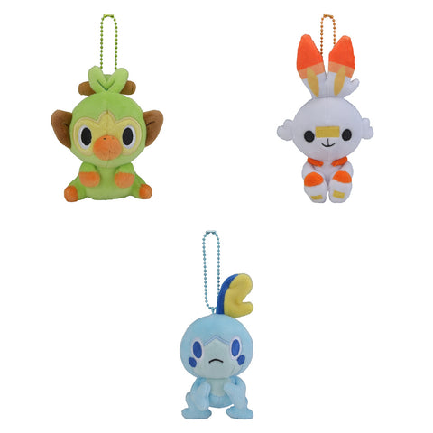 Pokemon Dolls - Galar Starter Mascot Plush