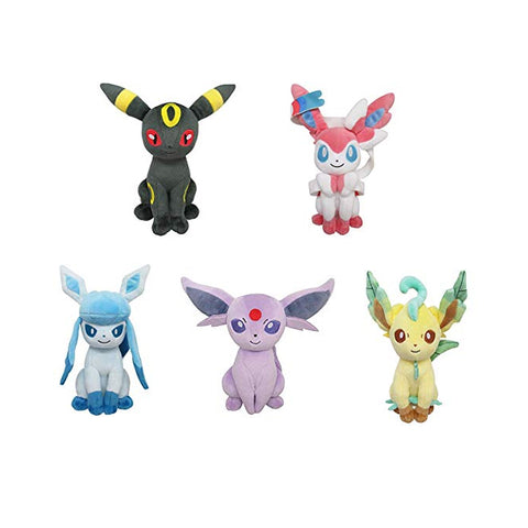 San-Ei All-Star Eeveelution Plush