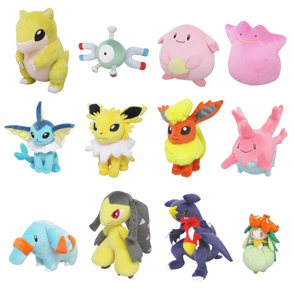 San-ei Pokemon All-Star Plush Vol 9