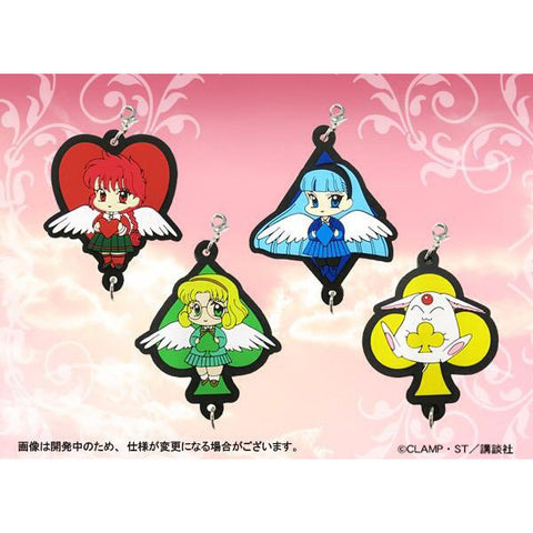 Magic Knight Rayearth Rubber Charms