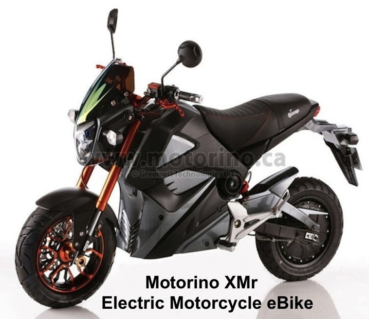 2016 Motorino XMr High Torque Electric Motorcycle E-Bike. On Sale - Buy Now!