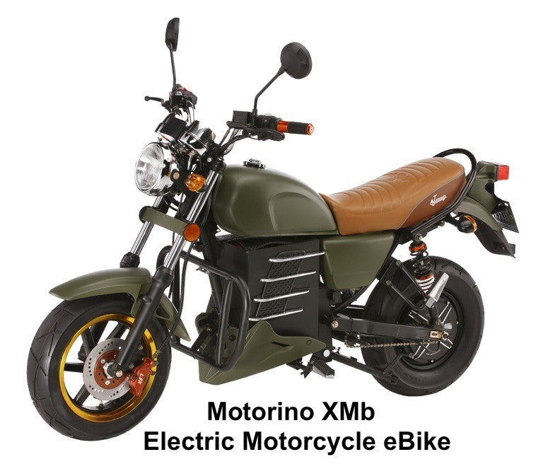 2016 Motorino XMb High Torque Electric Motorcycle E-Bike. On Sale - Buy Now!