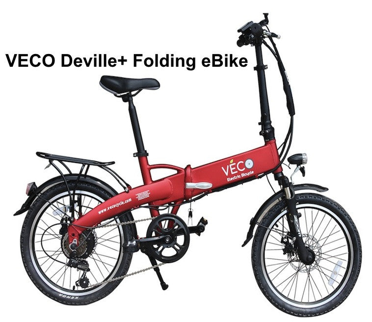 VECO Deville+ Folding eBike. On Sale - Buy Now!