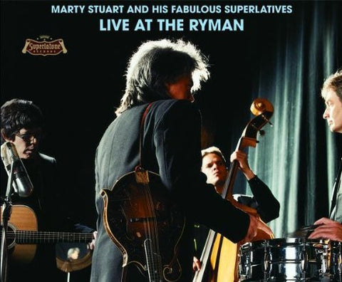 Marty Stuart - Live At The Ryman - Shop Busted Flat Records