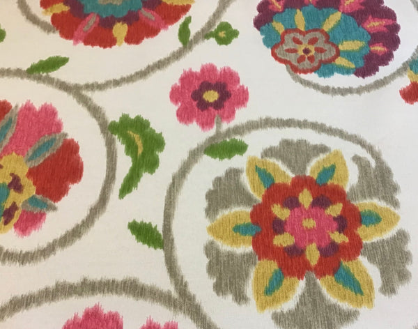 P Kaufmann Indoor/Outdoor Floral Fabric - Sold By The Yard