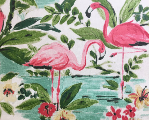 "Waverly ""Floridian Flamingo"" - Sold By The Yard"