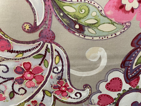 """Artist Colony"" Color Berry Fabric, Sold By The Yard"
