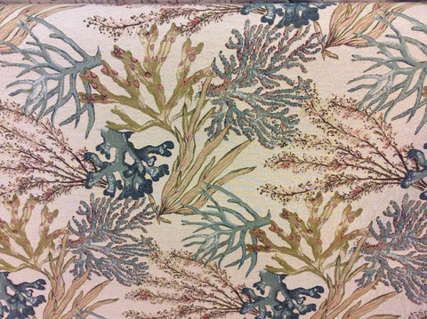 """Calcutta Caribbean""  Decorative Upholstery Fabric ""Sold By The Yard"