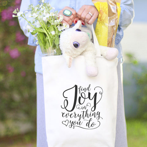 Find Joy Tote