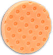 Orange Low Profile Light Cutting 5.5 inch Foam Pad