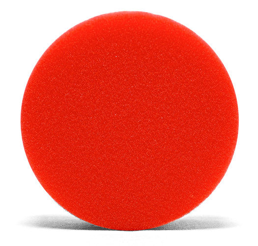 Red Ultrasoft Wax/Sealant Flat Foam Pad""
