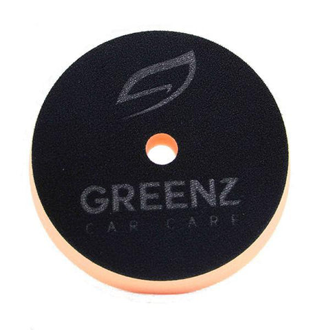 GreenZ Hybrid Orange Medium Cutting Foam Pad Big