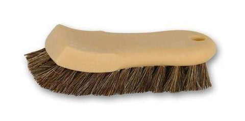 GreenZ Natural Horse Hair Leather Cleaning Brush