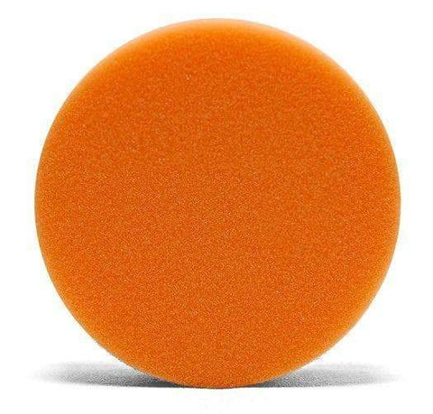 "4 "" Lake Country Flat Orange Light Cutting Pad"