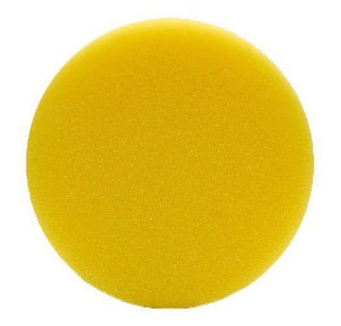 "4 "" Lake Country Flat Yellow Foam Pad"
