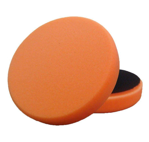 "5.5 "" Lake Country Flat Orange Light Cutting Pad"