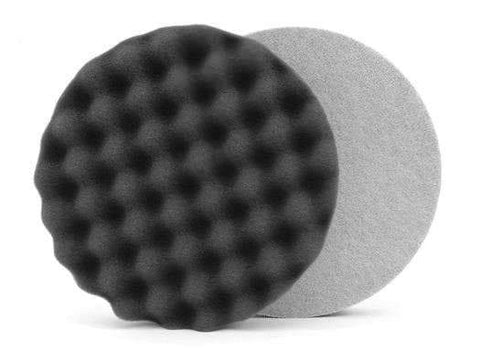 "6.5 "" Lake Country Waffle Pro Black Finishing Pad"