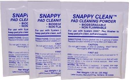 Lake Country Snappy Clean Pad Cleaning Powder (3 packs)