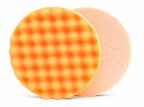 Lake Country Waffle Pro Orange Heavy Polishing Pad