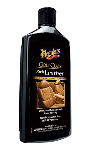 Meguiars Gold Class - Leather Cleaner Conditioner