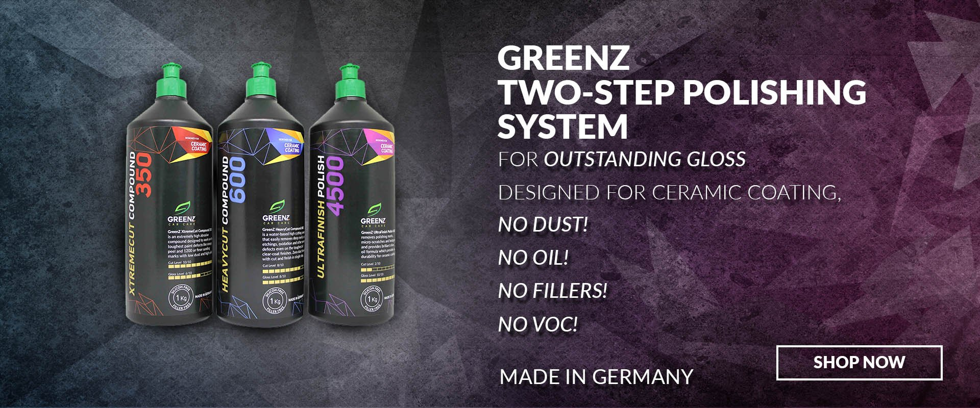 Auto Detailing Products – GreenZ Car Care