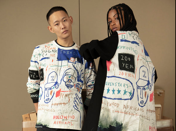 NTWRK and Rome Pays Off Team Up for Exclusive Capsule Partnering directly with the Basquiat Estate
