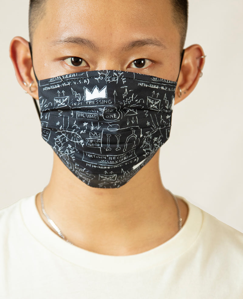 "Basquiat ""Beat Bop"" Face Mask"
