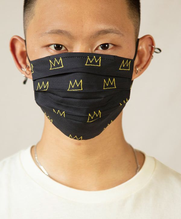 "Basquiat ""Crown"" Face Mask"