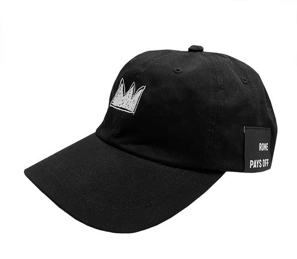 "Basquiat ""Beat Bop Crown"" Dad Cap"