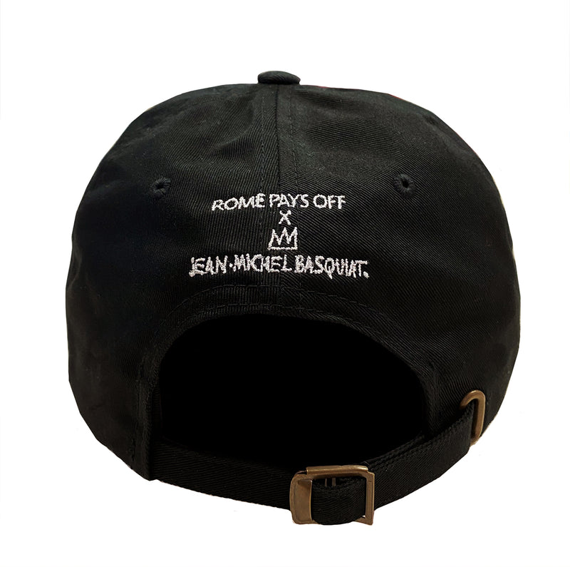 "Basquiat ""Signature Crown"" Dad Cap"