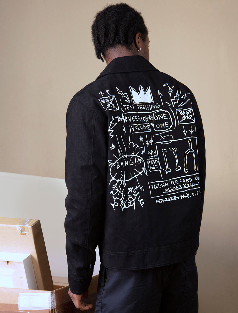"Basquiat ""Beat Bop "" Unisex Mechanics Jacket"