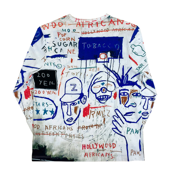 "Basquiat ""Hollywood Africans"" Unisex Long-sleeve T-shirt"