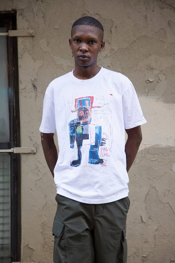 "Basquiat ""Irony of a Negro Policeman"" Unisex T-shirt"