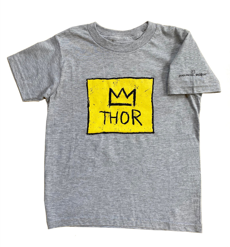 "Basquiat ""Thor"" Kids T-shirt - Multiple Colors Available"