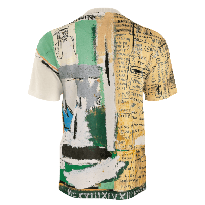 "Basquiat ""Jawbone of an Ass"" Unisex All Over Print T-shirt"