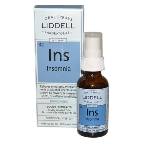 Liddell Homeopathic Insomnia