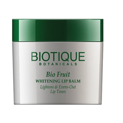 Biotique Bio Fruit Whitening Lip Balm Lightens & Evens-Out Lip Tones(12 Gram)