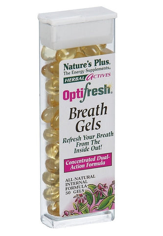 50 Softgels Herbal Actives Optifresh Herbal BreathGels